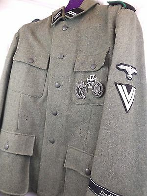 WW2 Waffen SS Officers Tunic
