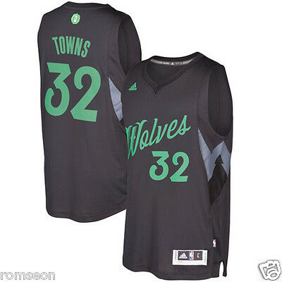 2016~2017 Christmas Edition Minnesota Timberwolves#32 Karl-Anthony Towns Jersey