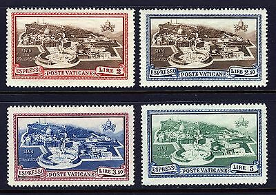VATICAN . 1933, 1945 Vatican City Aerial View (E3-6) . Mint Never Hinged