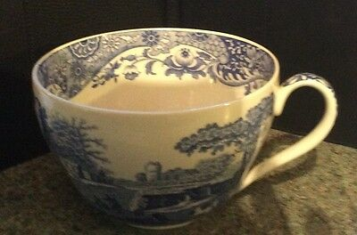 Spode Blue Italian, Large Cup.