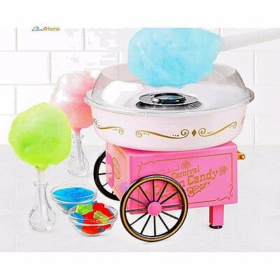Electric Commercial Cotton Candy Maker Machine Cart Kit,Vintage Store Booth ,NEW