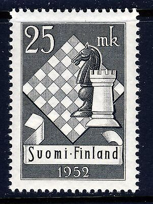 FINLAND - 1952 Chess Olympics (308) - Mint Never Hinged