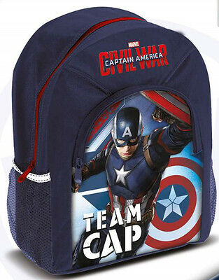 Boys - Marvel Captain America Civil War Backpack School Bag