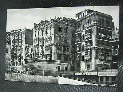 Vintage Maltese Real Photo Valletta Grand Harbour Area