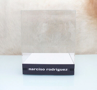 narciso rodriguez  Large Glorifier Cube Retail Display Stand Advertising Sign
