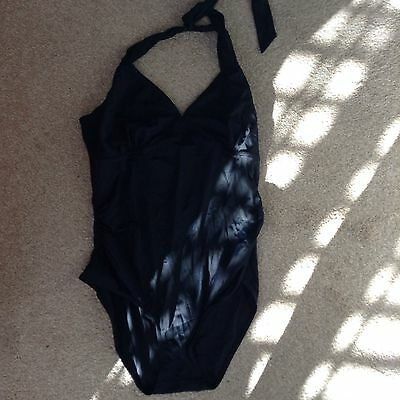 Mothercare Blooming Marvellous Maternity Swimming Costume Size 16