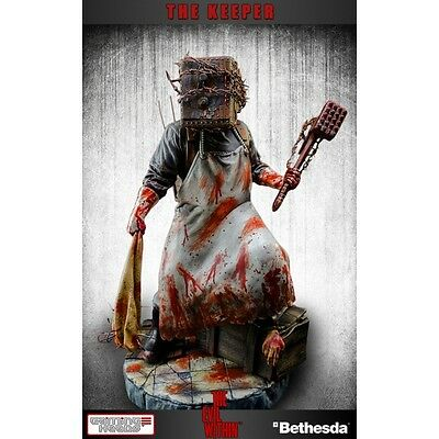 Evil Within The Keeper Statue GAMING HEADS
