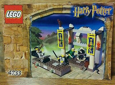 Instructions Only - LEGO Harry Potter - The Dueling Club - Set 4733 Book
