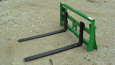 compact tractor pallet forks for John Deere tractors