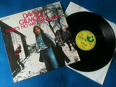"""David Gilmour - There's No Way Out Of Here  12"""" Promo  Germany 1978 VG+/EX+"""