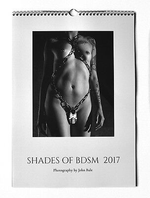 Kalender Shades of BDSM 2017 grey Edition Fetish Calendar Akt Erotik Nude