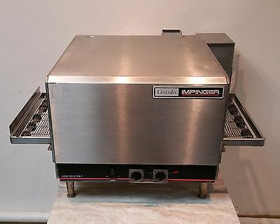 LINCOLN IMPINGER 1301-4 Commercial Countertop Conveyor Pizza Oven