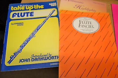 Flute  Tutor Books      Collection Of 6 Books