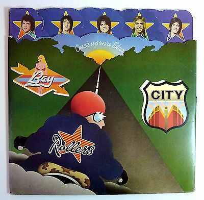 Bay City Rollers - Once Upon A Star - Vinyl Lp Record - 1975 Sybel 8001 Vg+/vg+