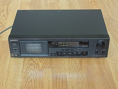 Sony TC-RX370 Stereo Cassette Tape Deck with HX-PRO, Serviced