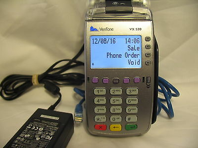VERIFONE VX520 CREDIT CARD READER AND SECURE POINT OF SALE EQUIPMENT No chip rea
