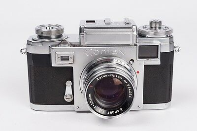 Contax IIIa + Zeiss-Opton Sonnar 1:2 50mm - READ DESCRIPTION