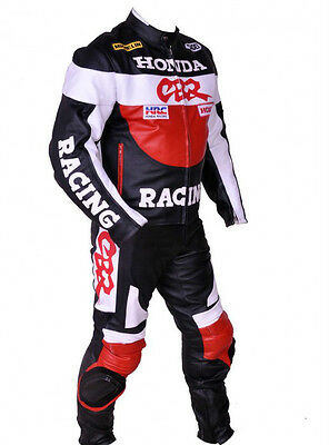 Cbr Racing Leather Suit Motorcycle Leather Suit Motorbike Suit Jacket Trouser