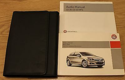 Vauxhall Astra Owners Manual Handbook And Wallet 2004-2010 T1766