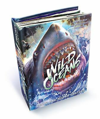 Wild Oceans : A Pop-Up Book with Revolutionary Technology by Lucio Santoro...