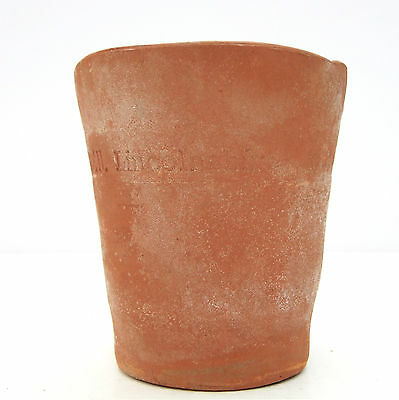 Vintage Handmade Teracotta Clay Lincolnshire Plant Pot