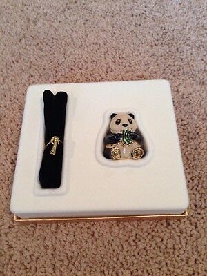 "Estee Lauder Solid Knowing Perfume Sitting ""Panda"" NEW/FULL Double Boxed"