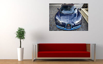 """2015 BUGATTI VEYRON FRONT VIEW LARGE ART PRINT POSTER PICTURE WALL 33.1""""x23.4"""""""