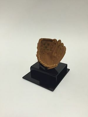 Baseball Display Stand with Soft Glove Ball Holder