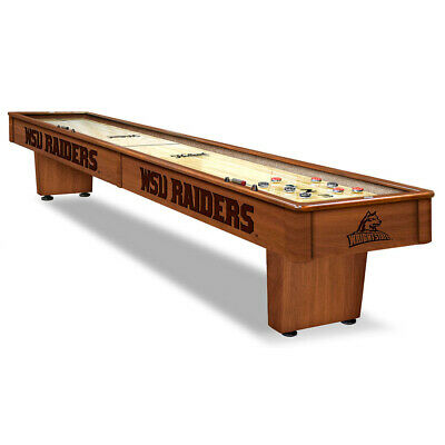 Wright State Raiders 12' Shuffleboard Table