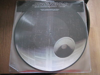 John Williams - Star Wars Iv A New Hope - 2Lp Sony Mint Nuevo - Picture Disc