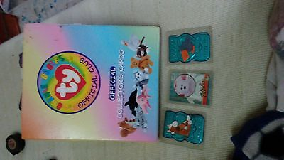 collectable beanie babies cards lot
