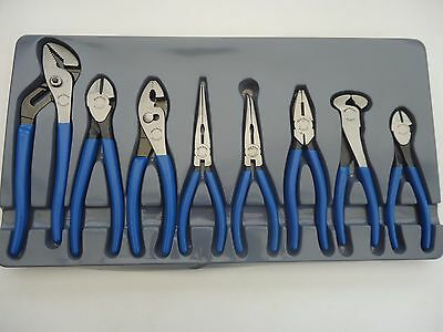 Blue-Point (Snap-On) 8Pc Pliers Set Bdgpl800, Brand New Un-Opened!!