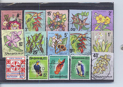 Guyana  Small Collection Of Stamps  Pack 26Lb