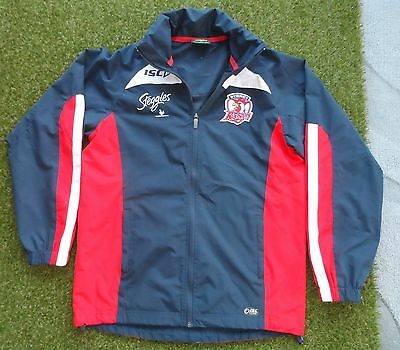 Sydney Roosters ISC Core Rain Jacket/Coat - Size Small Mens - NRL
