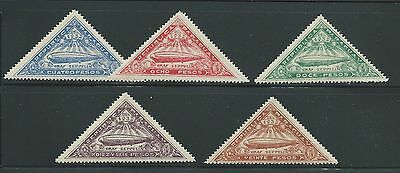 Paraguay 1932 Zeppelin Set Mh See Both Scans For Condition