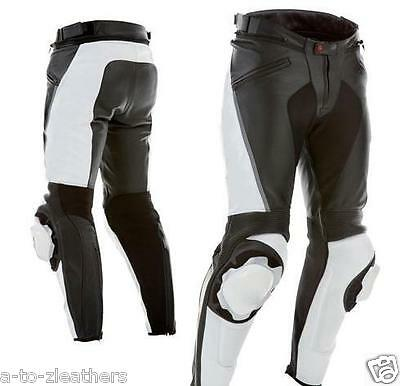 New Stylo Leather Trouser Men Motorcycle Biker Pant Motorbike Racing Trouser