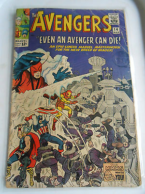 Avengers # 14  March 1965 VG Silver Age