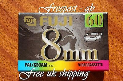 FUJI MP P5-60 DS VIDEO 8mm / Hi8 VIDEO CAMCORDER TAPE / CASSETTE - HIGH QUALITY