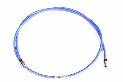 Huber Suhner / Amphenol SMA Male to Female Bulkhead RF Coax Cable Pigtail 50 OHM