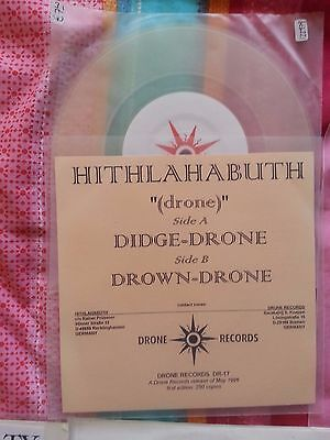 """Hithlahabuth """"Drone"""" Drone Records Promo 7"""""""