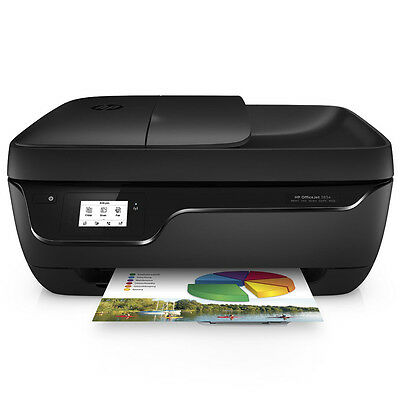 HP OfficeJet 3834e Multifunktionsdrucker WLAN USB Fax NEU