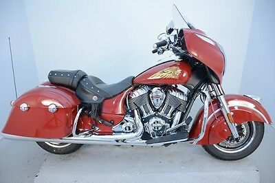 Indian Chieftain® 2015 Used Low Miles 2015 Indian Chieftain Used Stock:IN-1079A RED