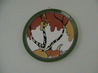 Clarice Cliff 'Honolulu' Plate/Cert. by Wedgwood