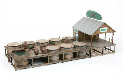 451 The Pickle Works - G. R. Dill & Sons Salting Station Kit - O Scale by AMB