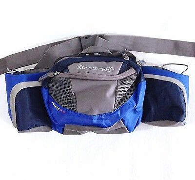 Mojave 8.0 Lumbar Pack Dual Water Bottle Holder Waist/Fanny Bag Satchel Pouch