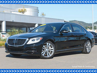 2015 Mercedes-Benz S-Class CERTIFIED 2015 MB S550 w/ Low Miles CERTIFIED 2015 MB S550 w/ Low Miles S-Class 4 dr Sedan Automatic Gasoline 4.6L 8