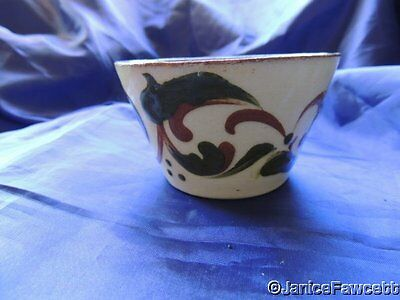 Vintage Torquay Ware Swirly Patterned Bowl