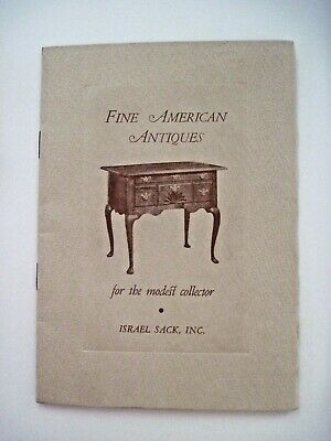 "Vintage 1950  ""Fine American Antiques"" Catalog by  ""Israel Sack, Inc.""  *"