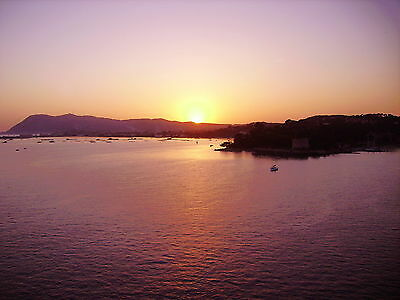"""Sunset at Toulon, France A4 12""""x8"""" photo art print. Larger sizes available"""