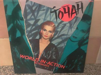"Toyah ‎– World In Action (Action Mix) ‎– TA 6545, Portrait ‎12"" Vinyl NEAR MINT"